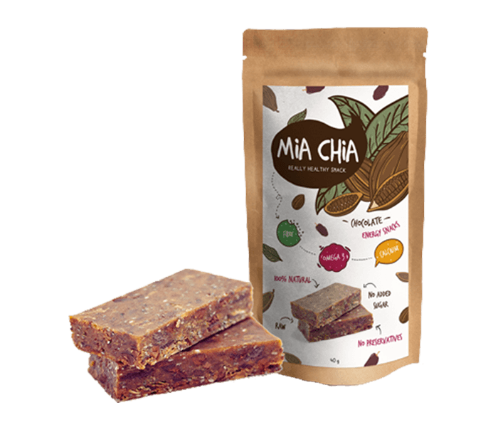 Mia Chia Energy Bar Cokelat