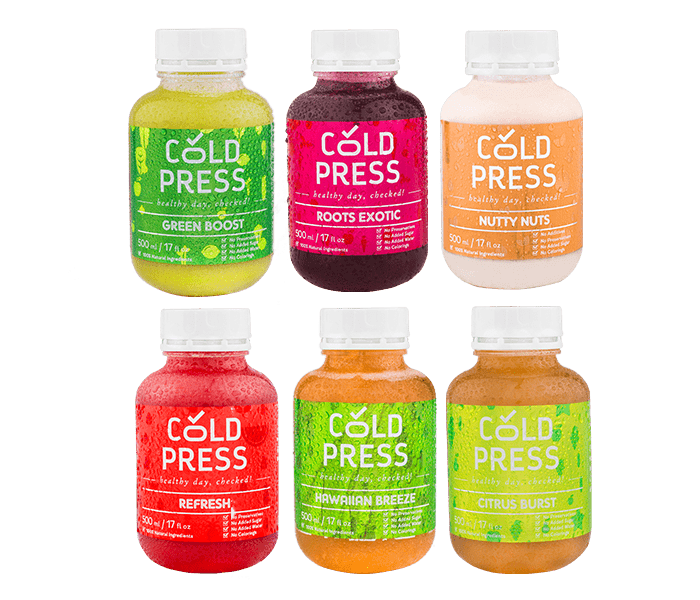 Cold Press 3 Days Classic Detox