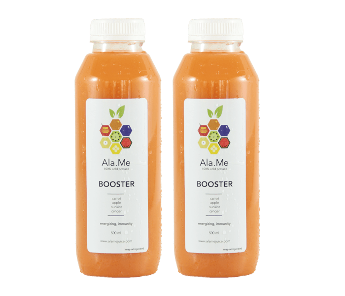 Ala.Me Booster Cold Press Juice Pack of 2 @500ml