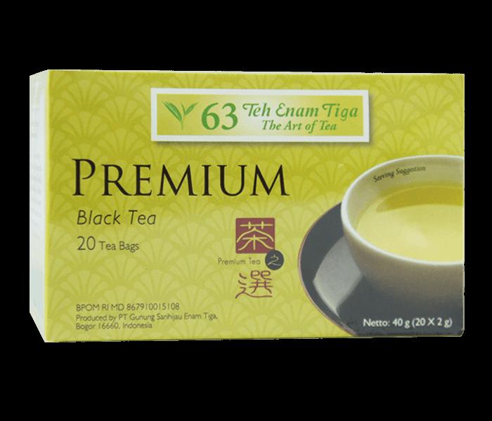 Teh 63 Teh Hitam Celup Premium 40 gr