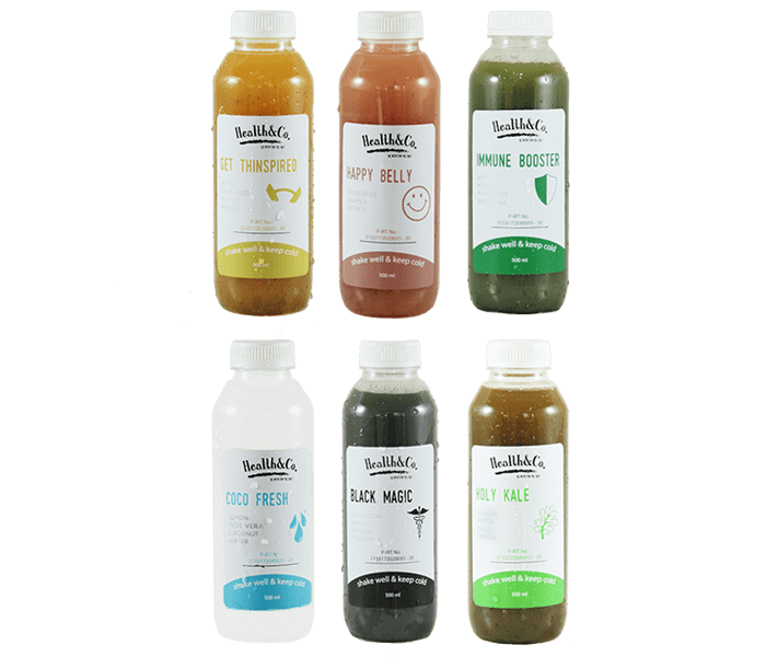 Health & Co. Paket Detoks 1 Hari