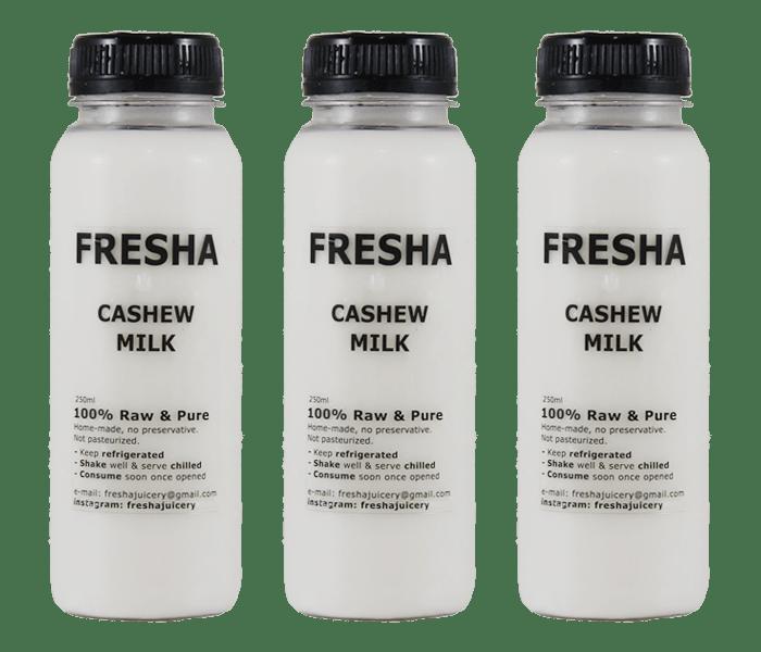 Fresha Juicery Original Cashew Milk Pack of 3