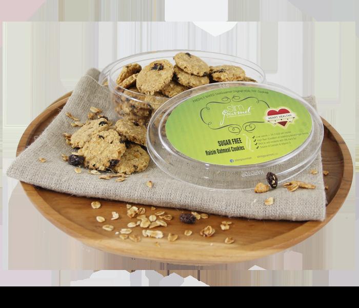 Slim Gourmet Cookies Pack of 3 (Small)