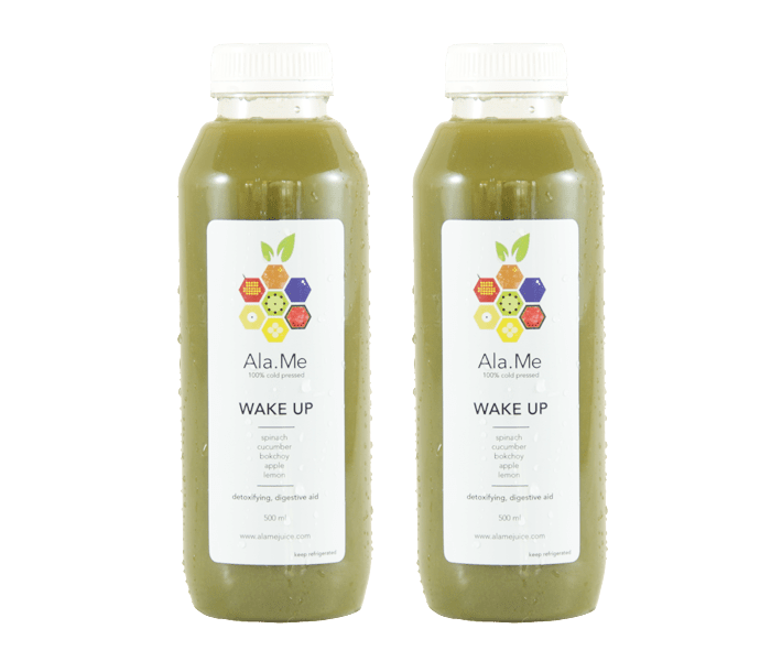 Ala.Me Wake Up Cold Press Juice Pack of 2 @500ml