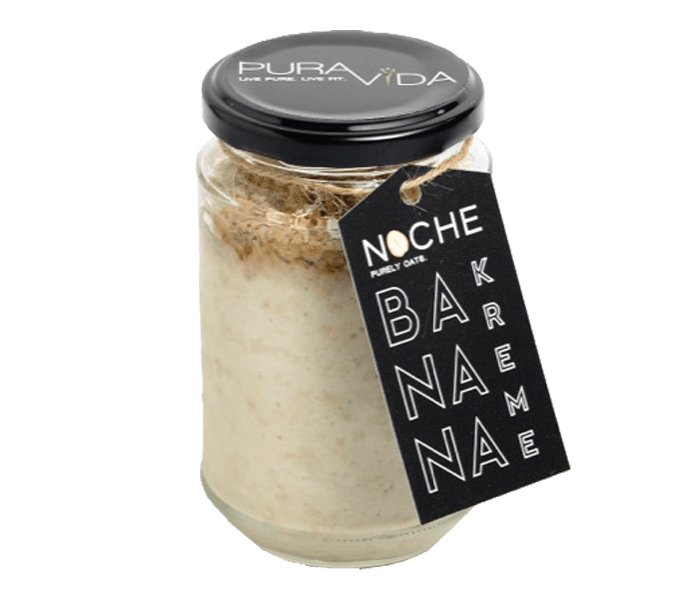 Pura Vida NOCHE Banana Kreme Overnight Oats Medium