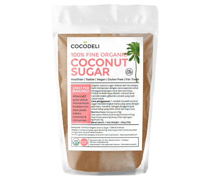 Cocodeli 100% Gula Kelapa Murni