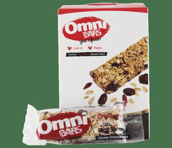 Omni Bars Goji Berry