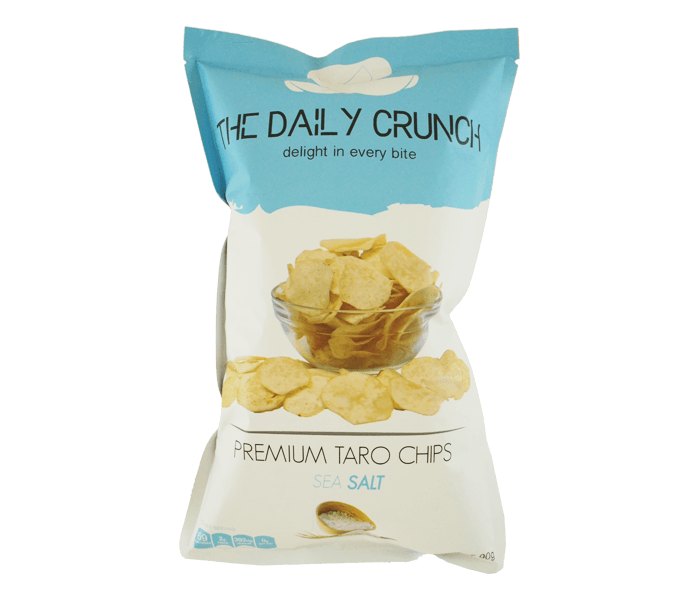 The Daily Crunch Keripik Talas Garam Laut