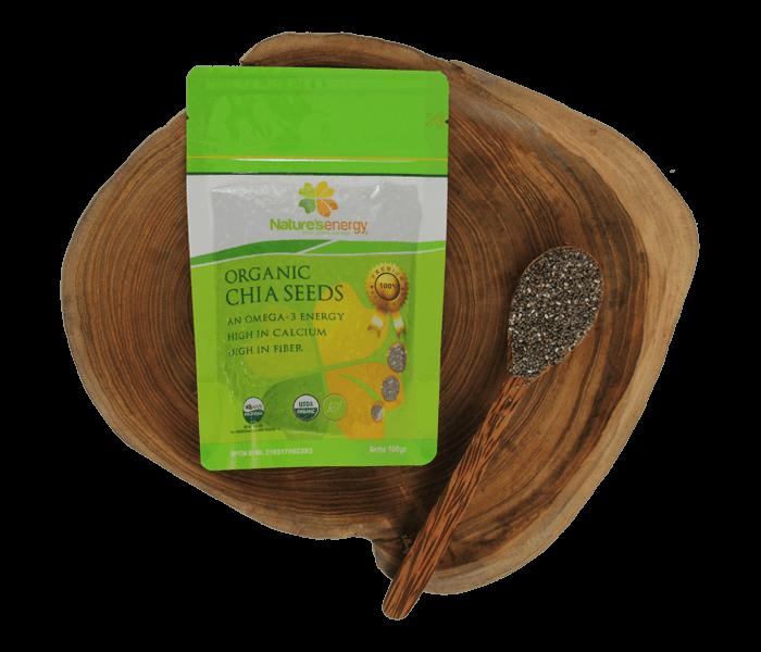 Nature's Energy Organic Chia Seeds 100 gr