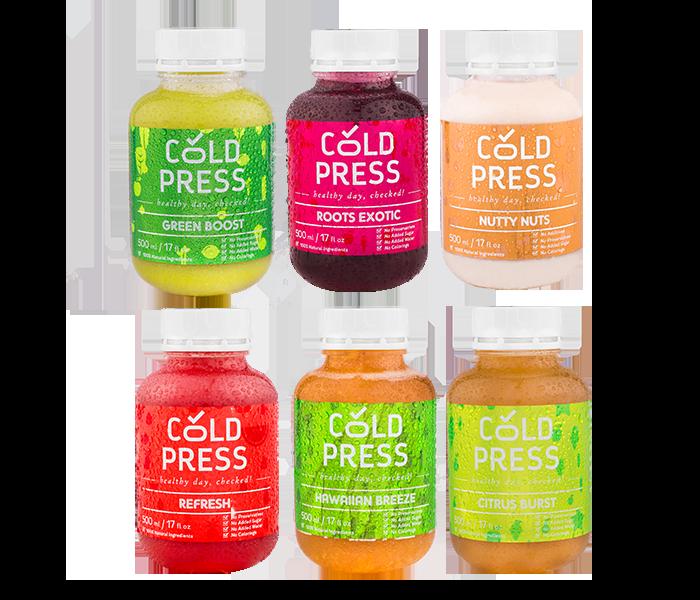 Cold Press 5 Days Classic Detox