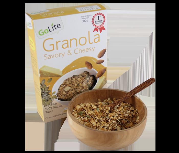 GoLite Savory & Cheesy Granola