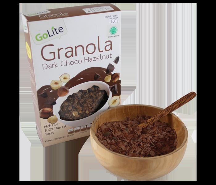 GoLite Dark Chocolate Hazelnut Granola