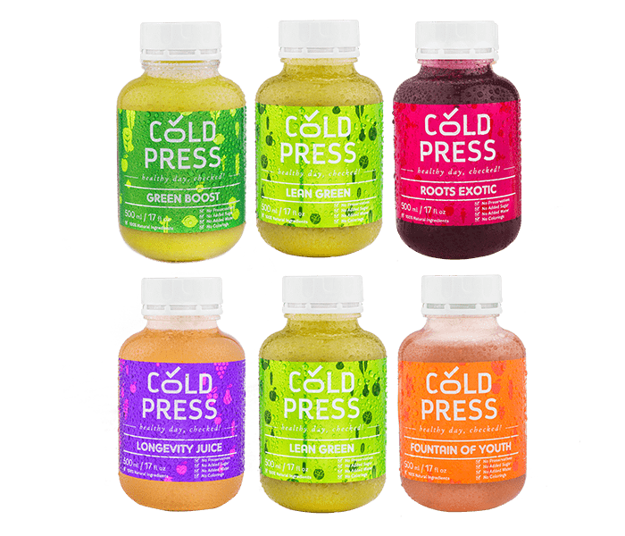 Cold Press 1 Day Skin Glow and Weight Maintenance