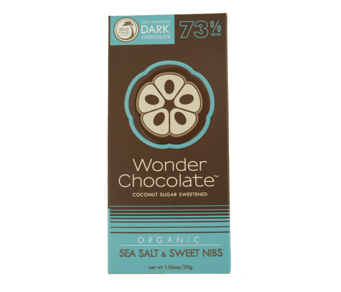 Big Tree Farms Wonder Chocolate 73% Cokelat & Garam Laut Organik