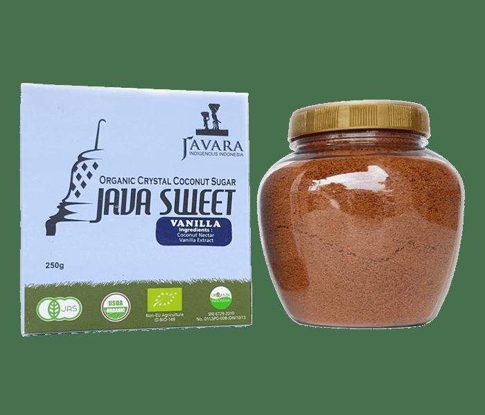 Javara Gula Kelapa Kristal Vanila Organik 250 gr