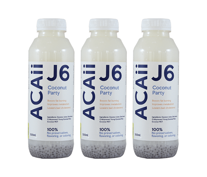 Acaii Triple Coconut Party Juice