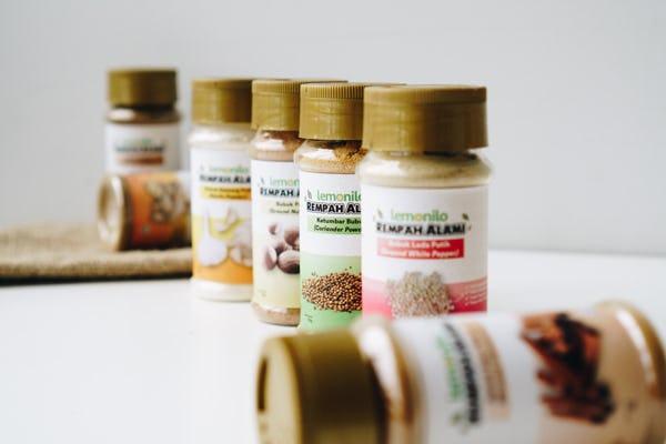 Lengkapi Kebutuhan Dapur Sehat Keluarga, Lemonilo Rilis 11 Produk Rempah Alami