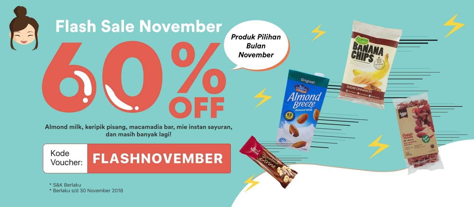 Flash Sale November