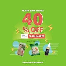 Flash Sale Maret 40% OFF