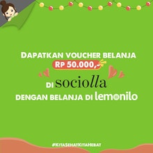 Dapatkan Voucher Belanja di Sociolla!