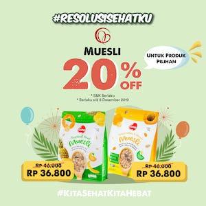 Oatsy Muesli 20% OFF