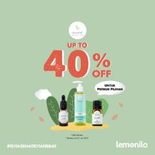 Eucalie Up To 40% OFF Produk Pilihan