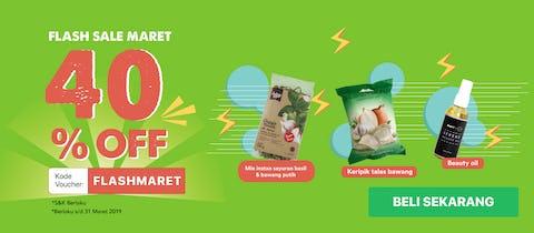 Flash Sale Maret