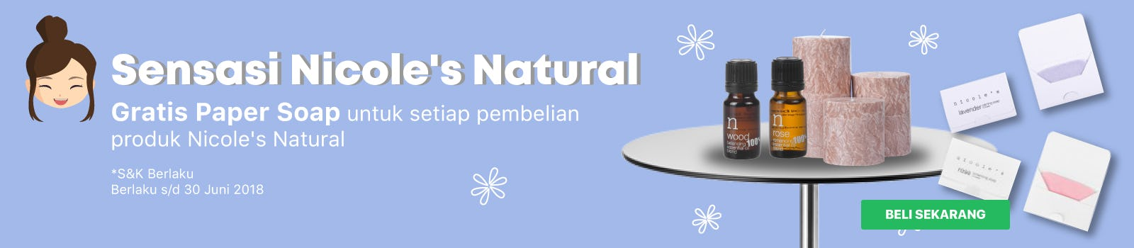Nicole's Natural Free Paper Soap