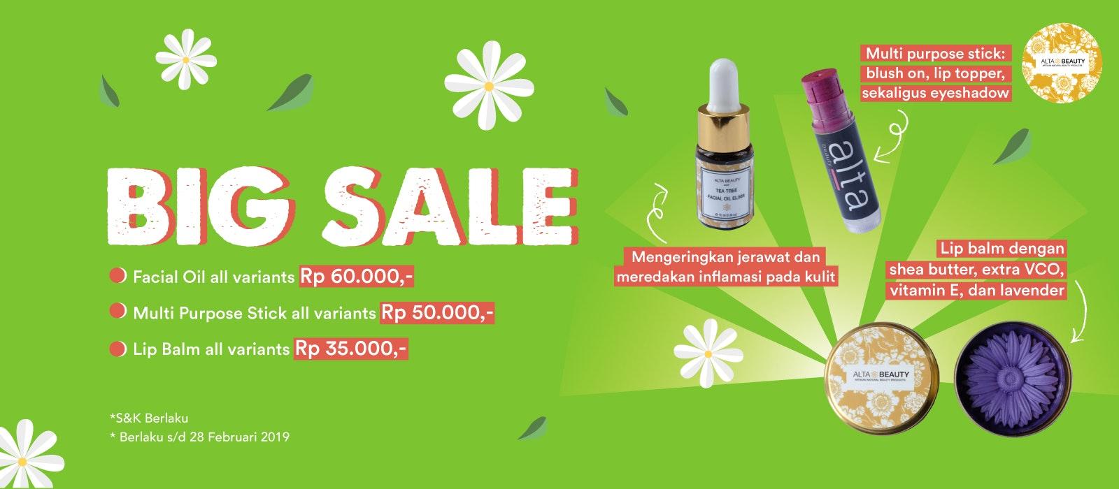 Alta Beauty Big Sale