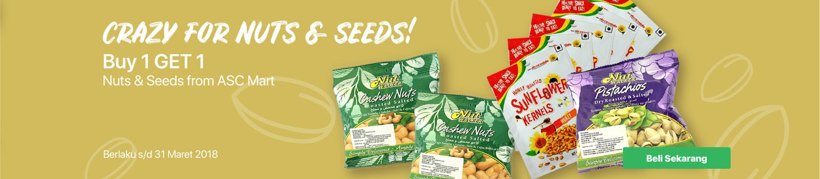 Crazy For Nuts & Seeds
