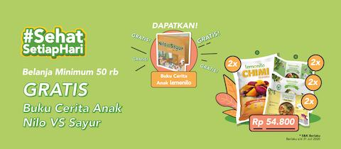 Paket Hari Anak Nasional GRATIS Buku Cerita Anak
