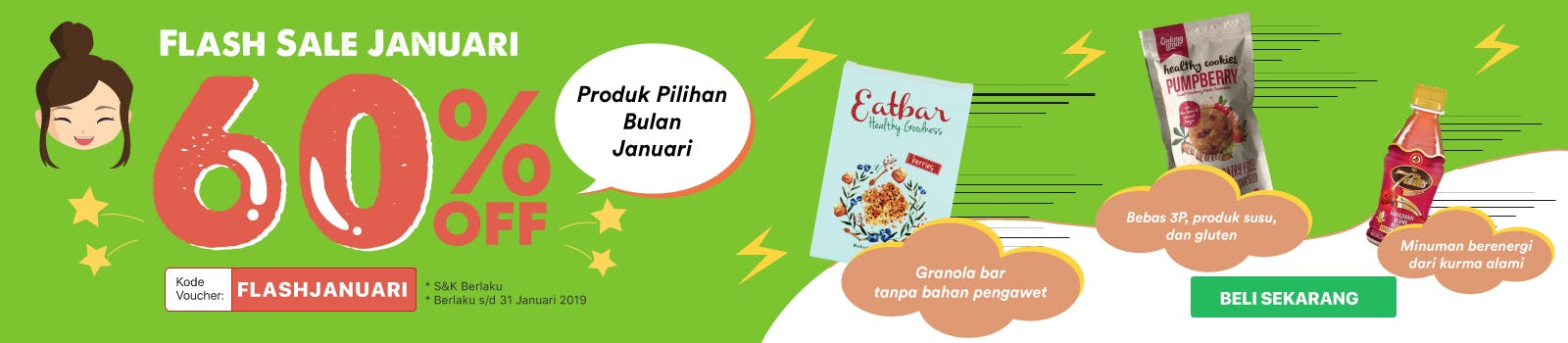 Flash Sale Januari