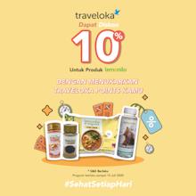 10% OFF Produk Lemonilo dengan Traveloka Points