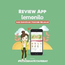 Review App Lemonilo dan Dapatkan Voucher Belanja