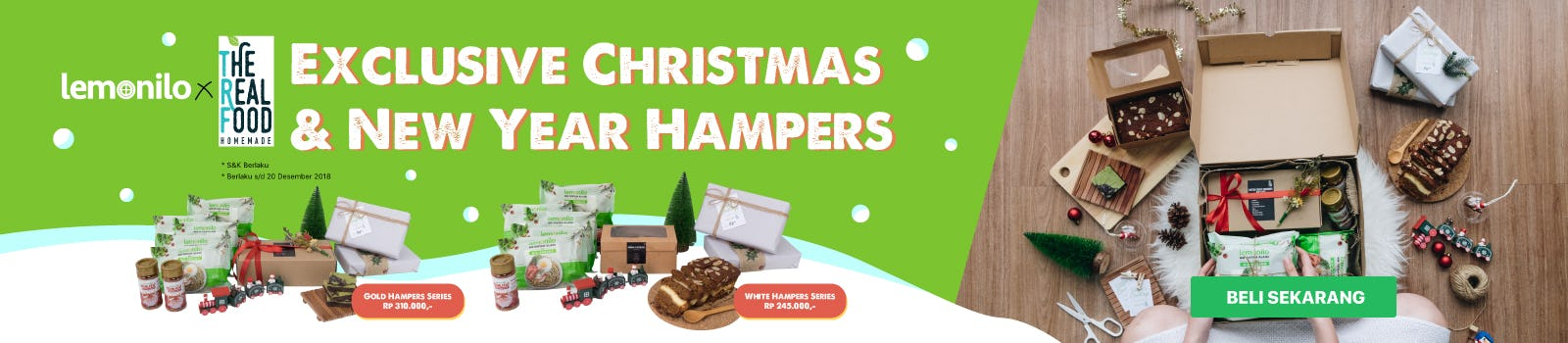 Christmas & New Year Hampers