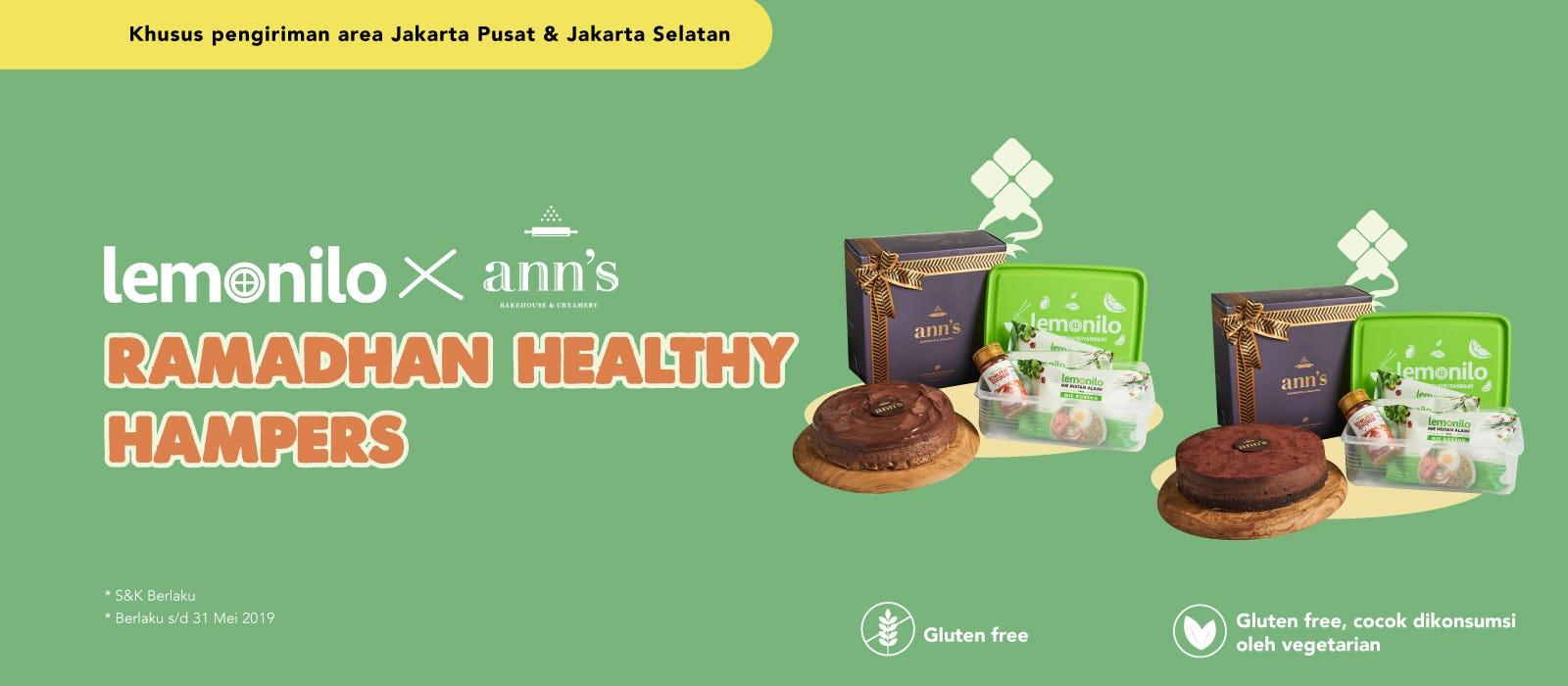 Lemonilo x Ann's Bakehouse & Creamery Ramadhan Healthy Hampers
