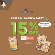 East Bali Cashew Party Disc 15%