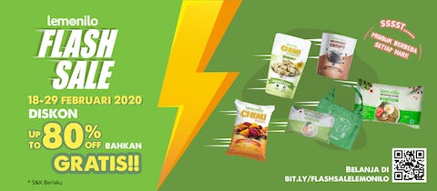 Flash Sale Pekan Cinta Diskon Up To 80% OFF