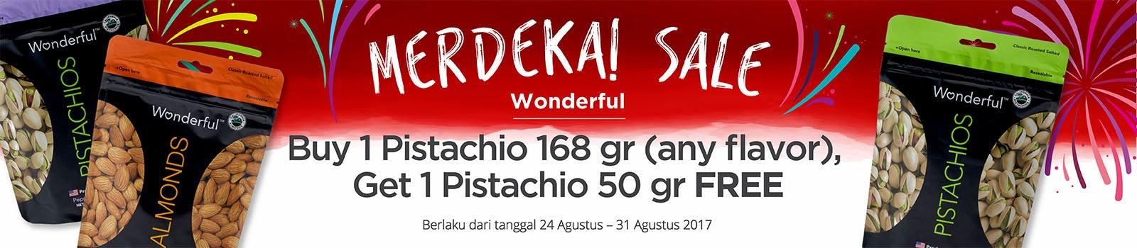 Merdeka Sale Wonderful Pistachio