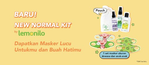 Kami Persembahkan New Normal Kit by Lemonilo!
