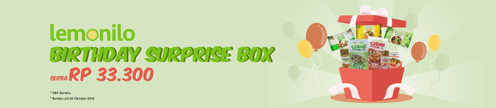 Lemonilo Birthday Surprise Box