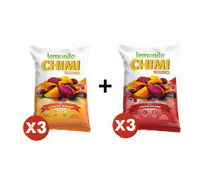Paket Komplit Chimi Keripik Ubi