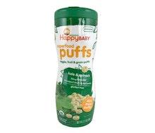 Happy Baby Superfood Puffs Bayam Kale Bebas Gluten