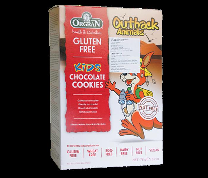 Orgran Kids Cookies Cokelat Bebas Gluten (Box)