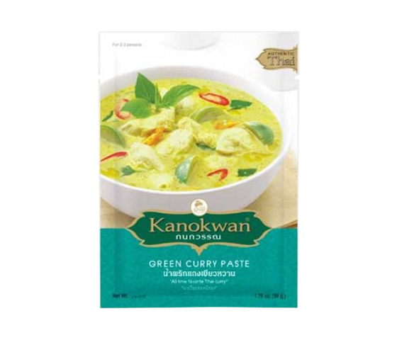 Kanokwan Green Curry Paste 50 gr