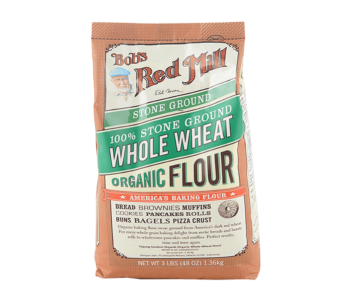 Bob's Red Mill Organic Whole Wheat Flour 1.3 kg