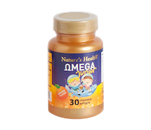 Nature's Health Omega Junior Orange Flavor