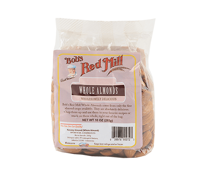 Bob's Red Mill Whole Almond 283 gr