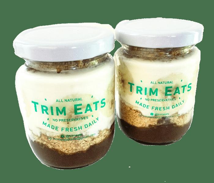 Jual Trim Eats Cacao Banana Creme Pudding hanya di Lemonilo.com
