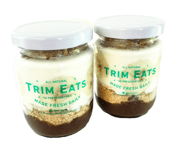 Trim Eats Cacao Banana Creme Pudding